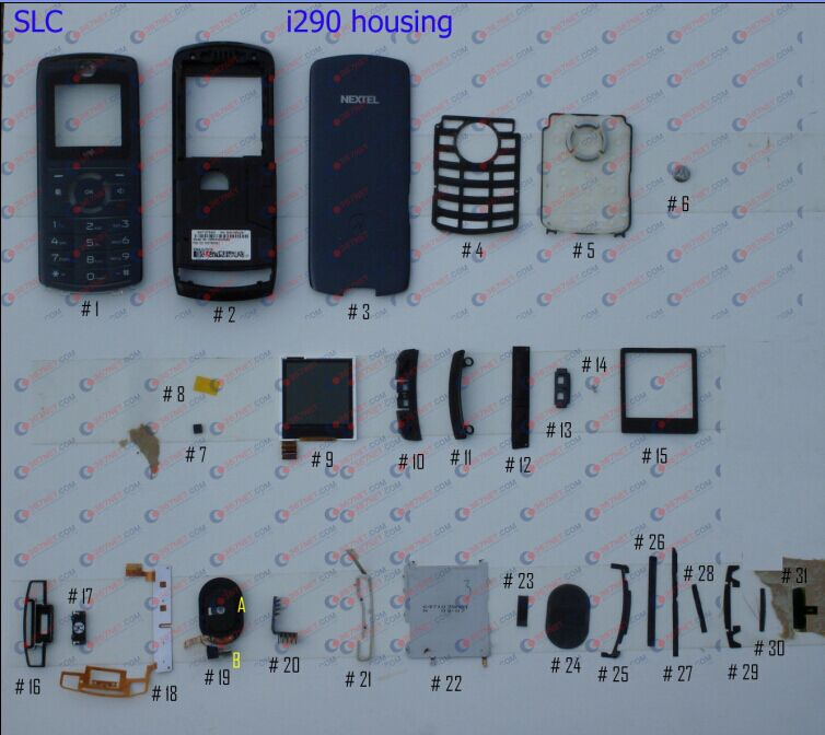 Nextel i290 housing