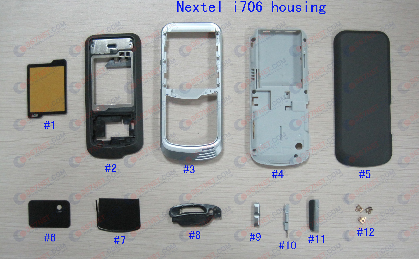 Nextel i706 housing