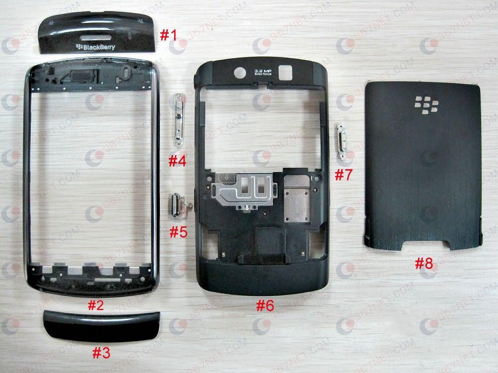 Blackberry 9500 full Housing, Blackberry full Housing ...